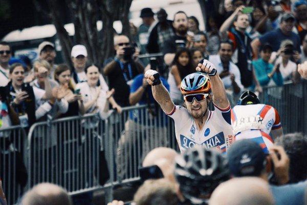 "Finalist: Audry Dubon, ""Winner of men's race at UCI Road World Championships"""