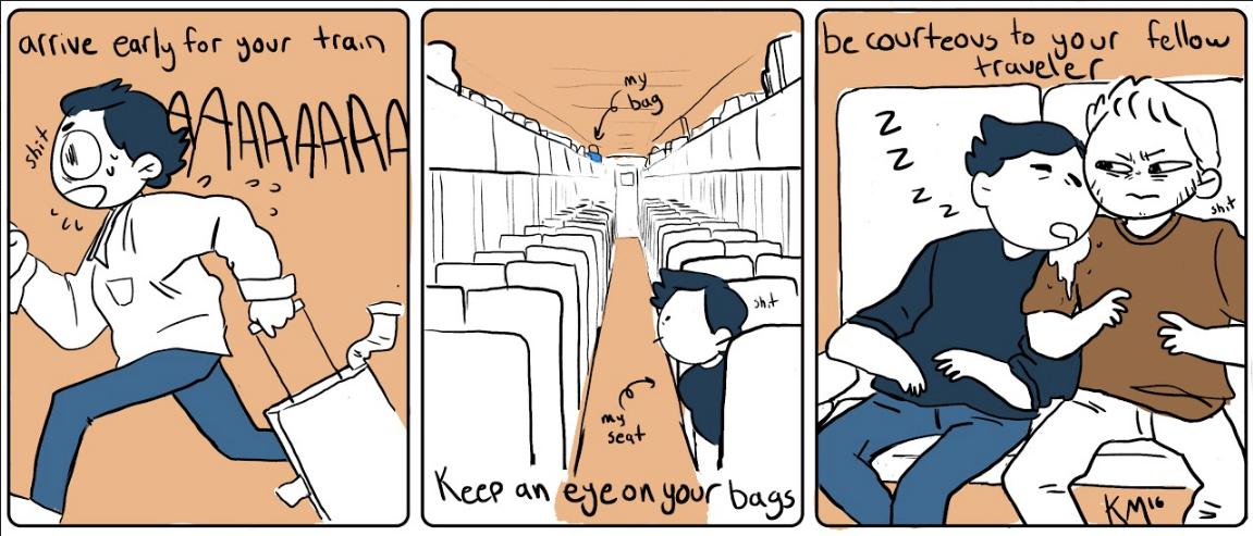 Comic by Kelly Macrae